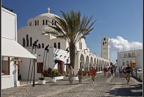 View Fira Town Santorini From My Stock Photo 58215373 - Shutterstock