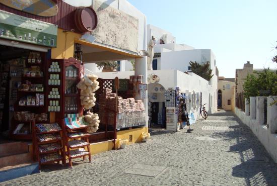Fira Main Town, Santorini, Greece Stock Image - Image: 8661421