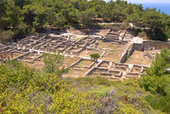 Ancient Kamiros Tour, Philerimos (Ialyssos)