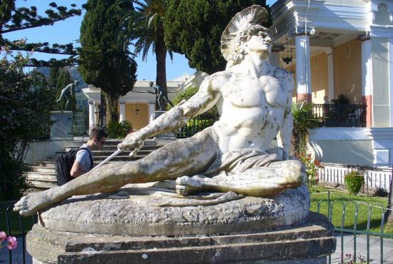 Corfu tour- Achillion Palace- Paleokastritsa, Bella Vista ...