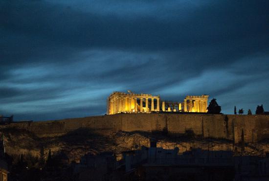 Acropolis Night View