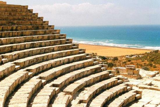 Limassol – Kourion, Temple of Apollo, Omodos Village