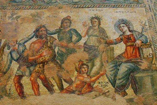 Limassol Paphos Dionysos Mosaics