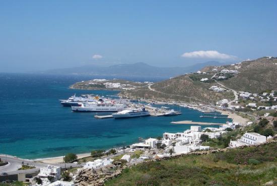 Mykonos Tourlos Port