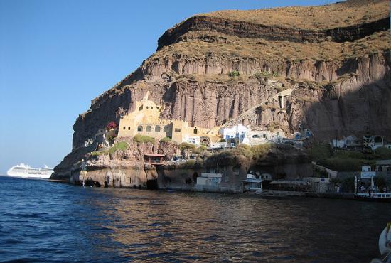Santorini Excursion to Akrotiri Excavation & Fira Town