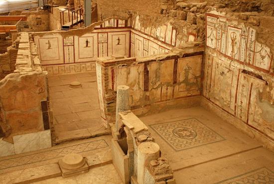 Ephesus Ancient City, Basilica of St. John, Terrace House