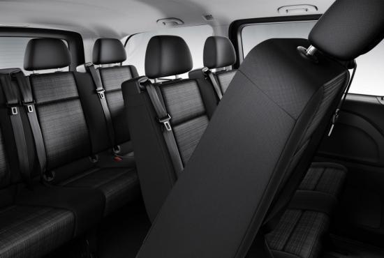 8-seats-Minivan-Mercedes-Vito-interior
