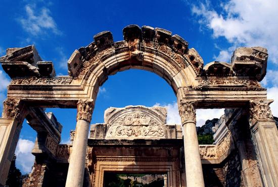 Ephesus Ancient City, Basilica of St. John, Terrace House