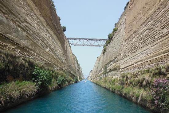 Corinth - Tour to Ancient Corinth – Canal Crossing