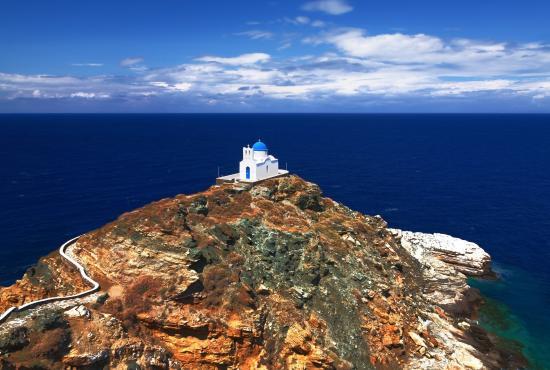 Tour to Sifnos Kastro Artemonas Apollonia Chrysopigi Shore