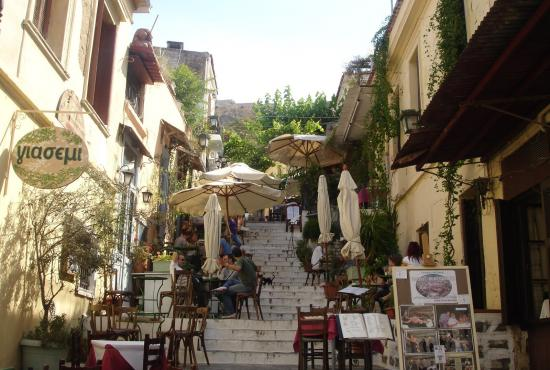 Corinth – Athens City Tour – Plaka