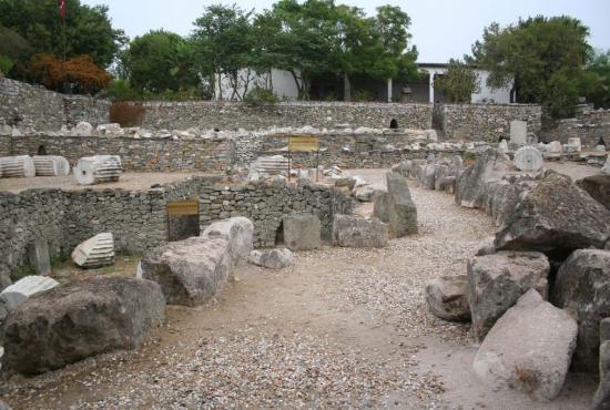 Bodrum City Tour - The Castle of St. Peter - The Mausoleum