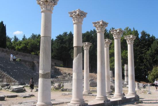 Kos-Excursion to Asklepeion & Zia & Platane of Hippokrates