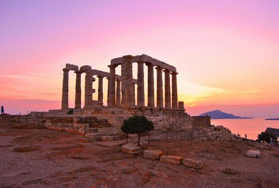 Hasil gambar untuk Temple of Poseidon – Sounion