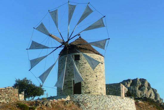 Naxos- Drossiani, Apeirathos, Halki