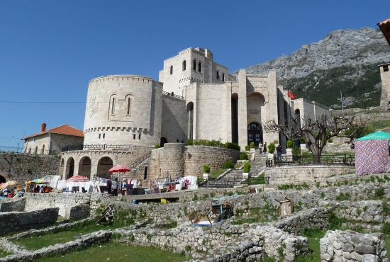 Tour to Kruja the old capital & Tirana, the new Albanian Capital