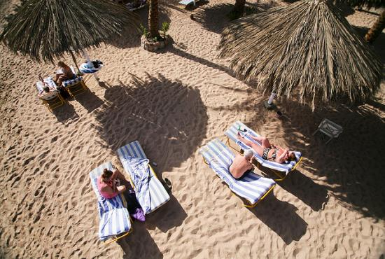 El Sheikh port-Relax at the beach