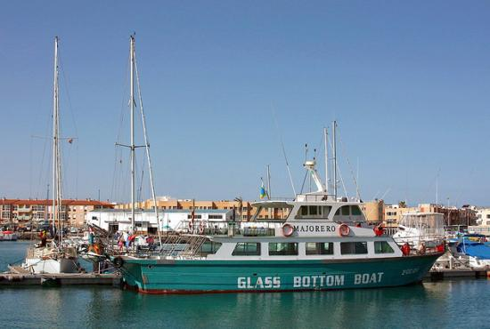 El Sheikh port-Glass bottom boat