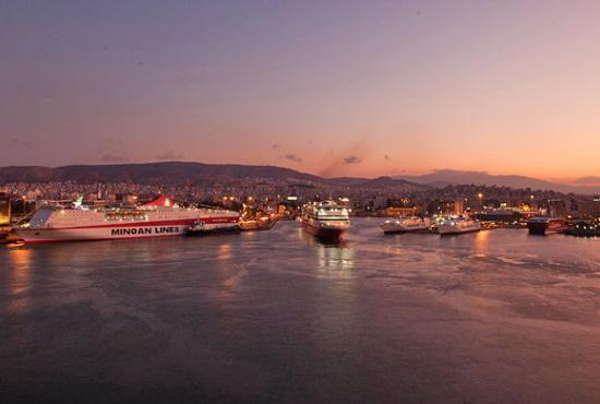 Tour from Piraeus to Ancient Corinth & Corinth Canal Crossing by boat