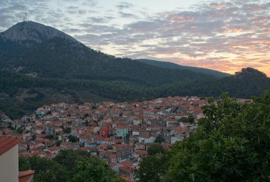 Agiassos Village