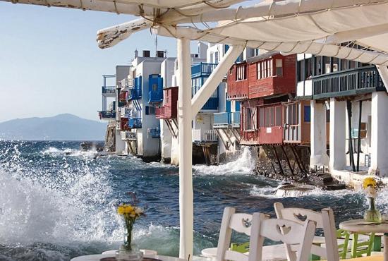 Island hopping package 4 days Athens-Paros-Syros-Mykonos-Athens