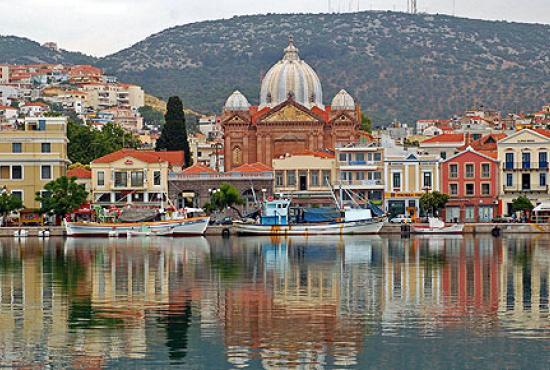 Lesvos port