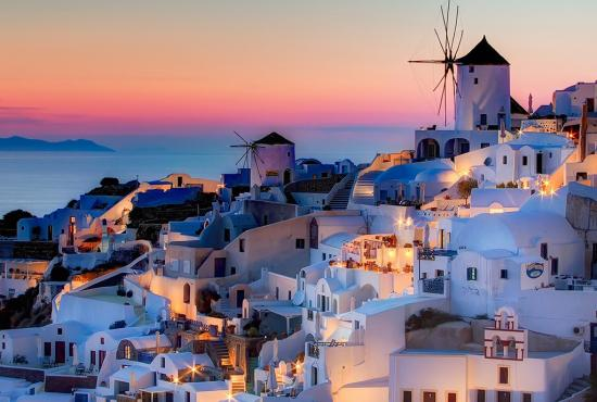 Island hopping package 4 days Athens-Santorini-Ios-Athens