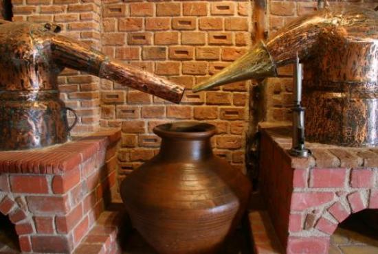 Eva Ouzo distillery