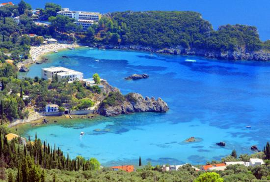 Corfu-Achilleion Palace, Paleokastritsa & City Tour