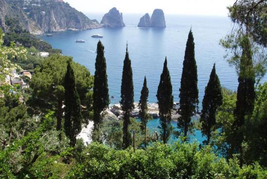 The Isle of Capri Tour