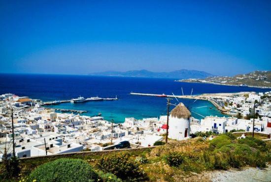 Island Hopping Package 7 days Athens-Mykonos-Santorini-Crete-Athens