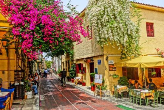 Athens' beautiful corners