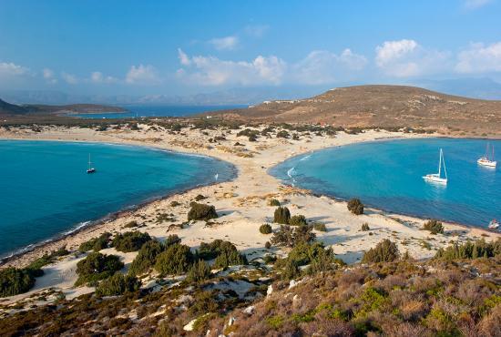 Top 15 Beaches in Greece 2016: Fragos/Simos Beach, Elafonisos