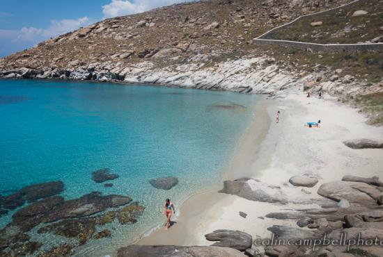 Top 15 Beaches in Greece 2016: Kapari Beach, Mykonos