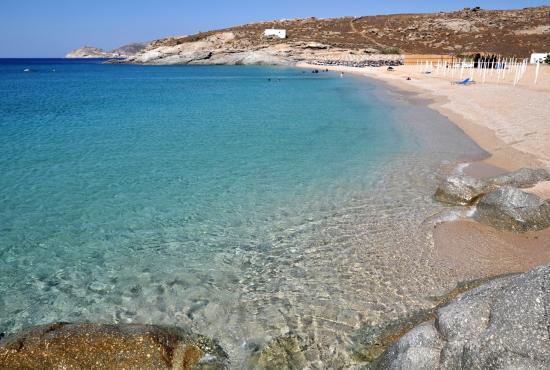 Top 15 Beaches in Greece 2016: Lia Beach, Mykonos