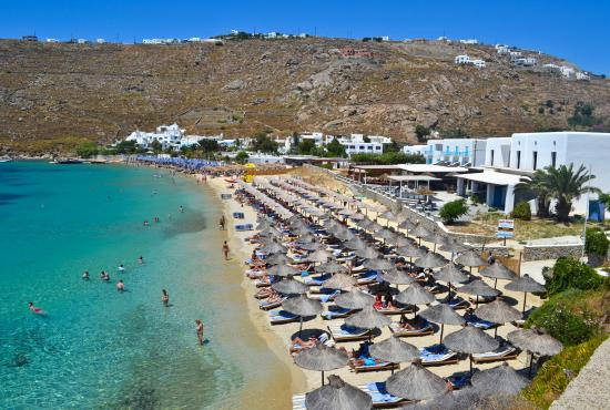 Top 15 Beaches in Greece 2016: Psarou Beach, Mykonos
