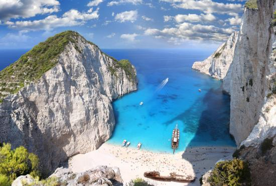 Top 15 Beaches in Greece 2016: Navagio (Shipwreck) Beach, Zakynthos