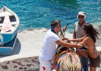 Santorini tour to Pyrgos Village, Fira Prehistoric Museum & Oia Town