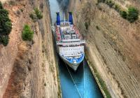 Ancient Corinth – Canal Crossing