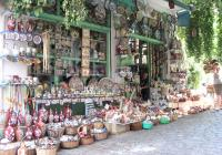 Traditional shop, Agiassos Village